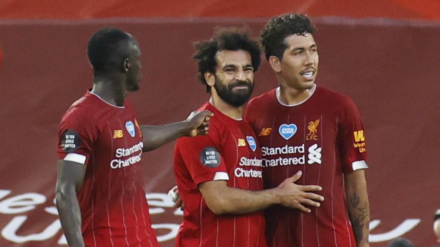 Liverpool étrille Crystal Palace et se rapproche du titre — Premier League