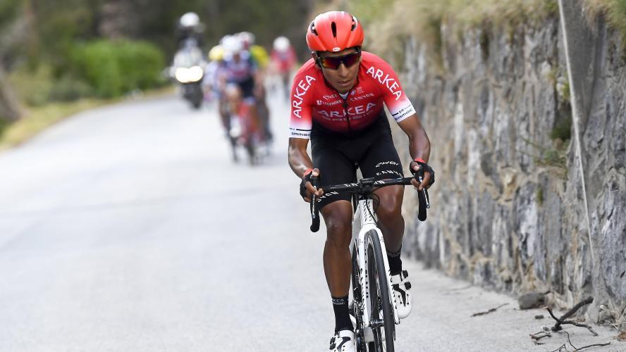 Nairo Quintana heurté par une voiture à l'entraînement — Cyclisme