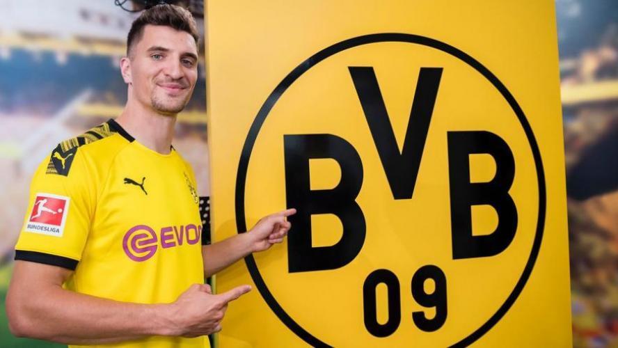 Thomas Meunier avait déjà signé à Dortmund en février — PSG