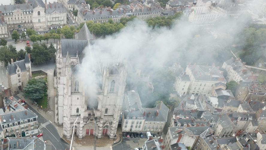 Le diocèse appelle à ne pas interférer dans l'enquête — Cathédrale de Nantes
