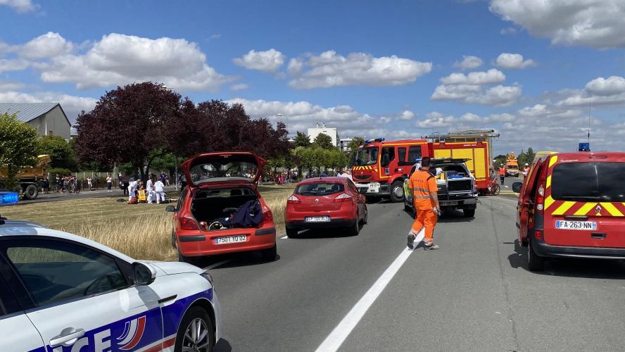 Nord de la France: Quatre enfants meurent dans un dramatique accident