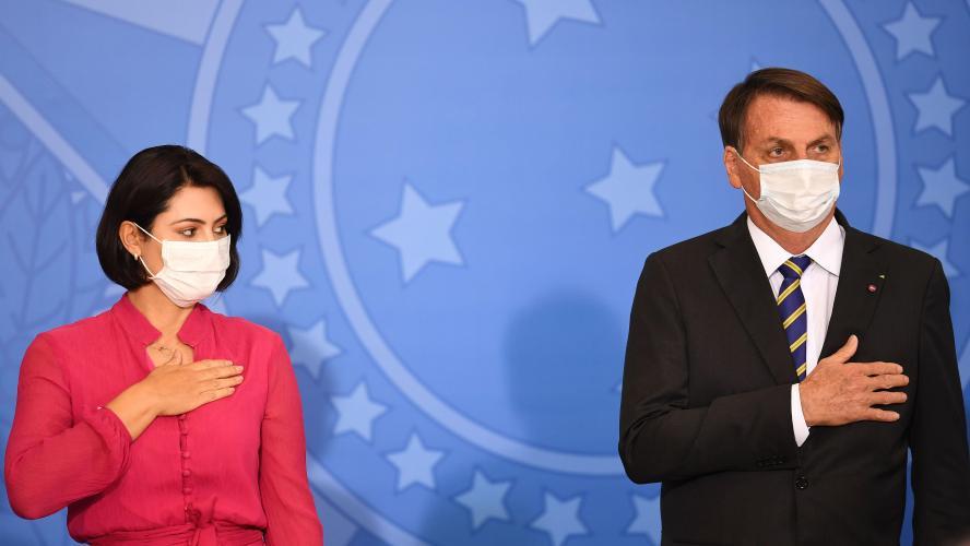 La première dame du Brésil, Michelle Bolsonaro, a contracté le coronavirus