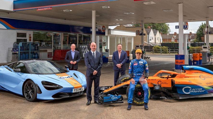 F1 - F1 : Gulf redevient le partenaire de McLaren