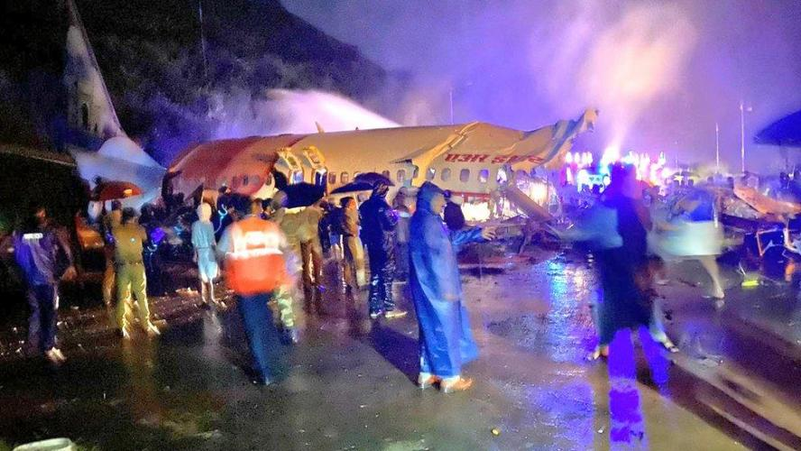 Inde-Deux morts lors de l'atterrissage raté d'un avion d'Air India