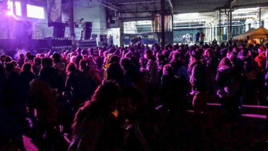 Une rave-party réunit plus de 10.000 personnes en Lozère