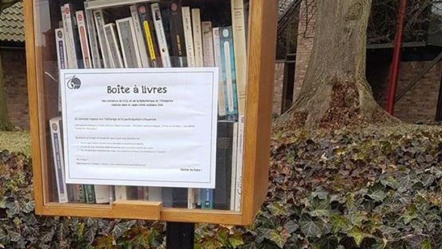 Boite à livres Eupen
