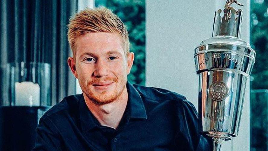 Kevin de Bruyne désigné meilleur joueur de la saison 2019