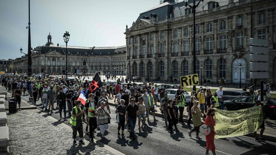 Quelques milliers de gilets jaunes mobilisés ce samedi à Paris