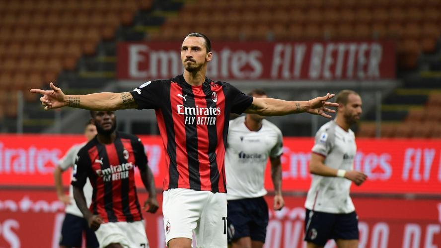 Ibrahimovic donne la victoire à l'AC Milan — Serie A