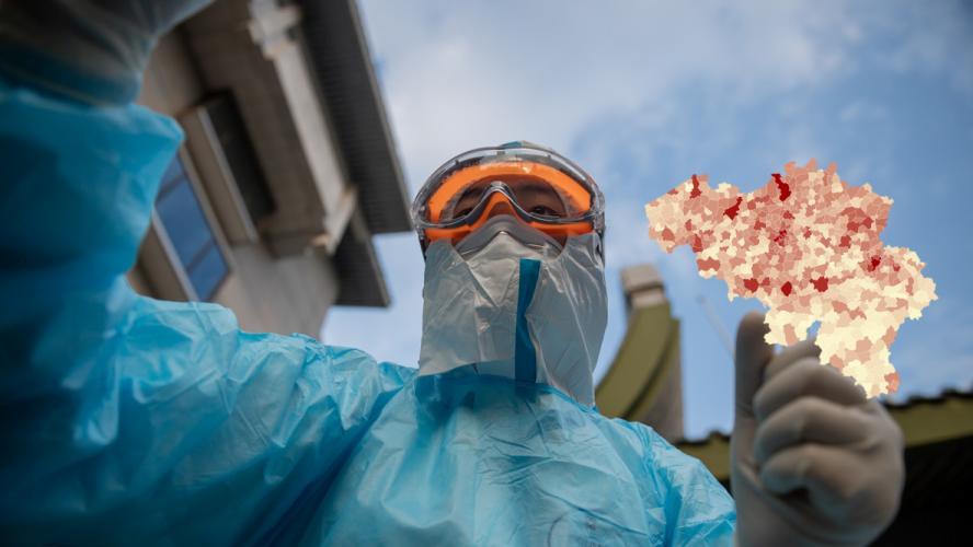 110.976 cas de coronavirus en Belgique: les contaminations toujours en hausse, voici la situation dans votre commune ce samedi