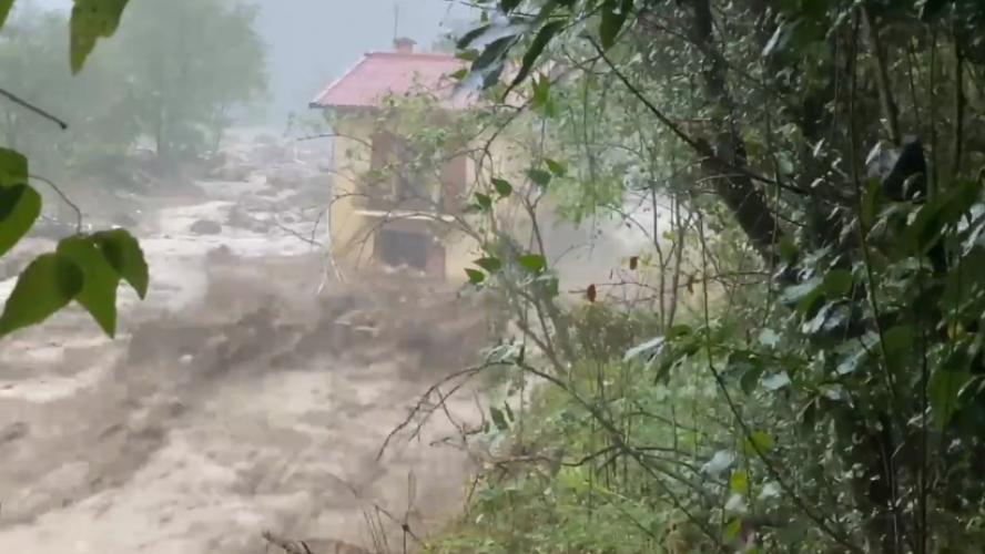 La Franche-Comté placée en vigilance jaune pluie-inondation — Tempête Alex