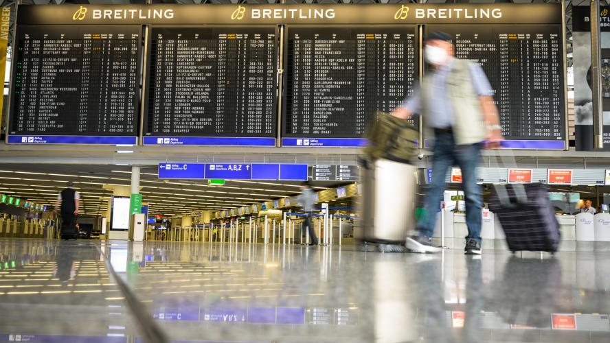 L'UE adopte une cartographie commune pour les restrictions de voyage