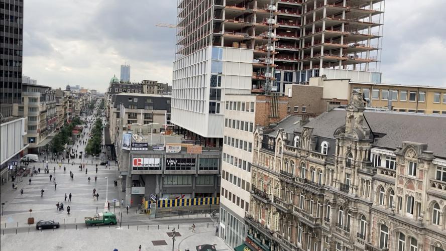 Les Pietons Bruxellois Sondes Tout Le Week End Sur La Dynamique Pietonne De La Ville