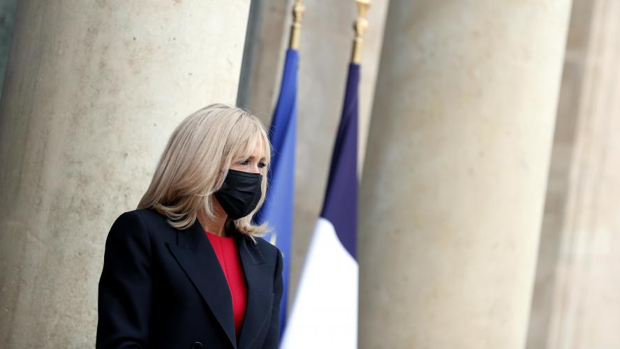 Covid-19 : Brigitte Macron cas contact et placée à l'isolement