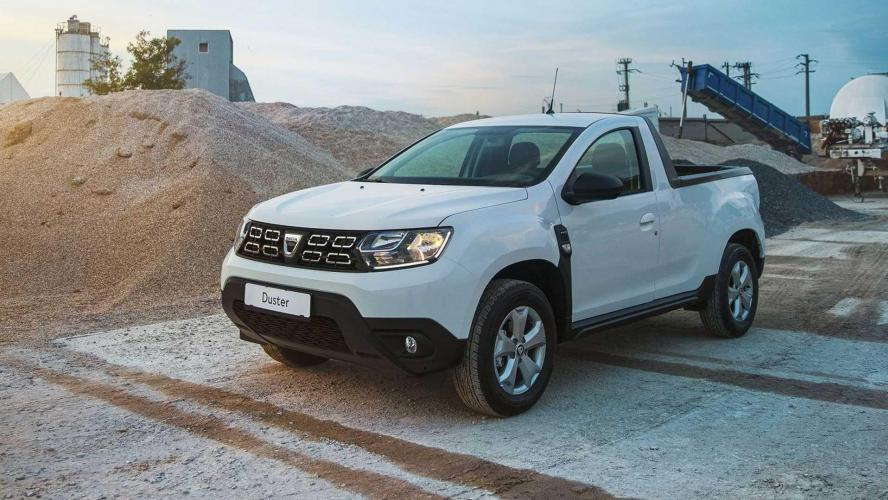 Une version pick-up pour le Dacia Duster