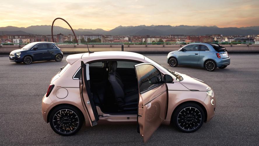 Fiat 500 3+1: la porte qui fait toute la différence