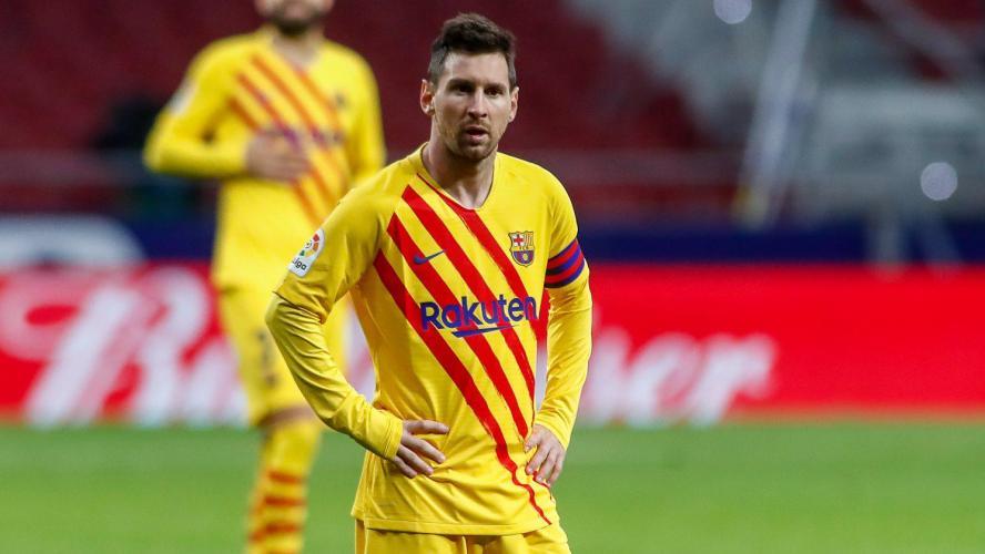 Messi absent du groupe contre le Dynamo Kiev — Barça