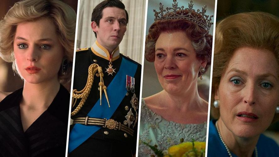 Le vrai visage des stars de « The Crown »