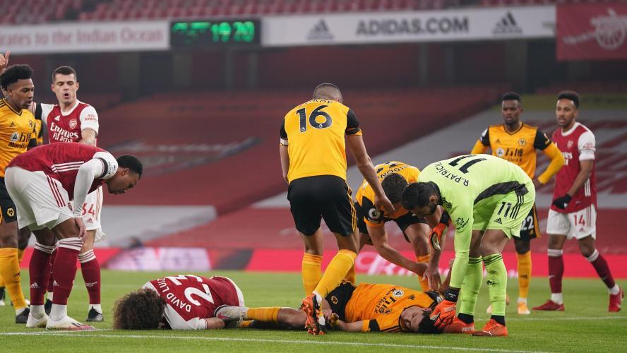 Wolves : fracture du crâne pour Jimenez