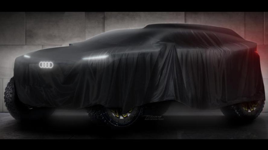 Audi: Un proto électrique au Dakar 2022