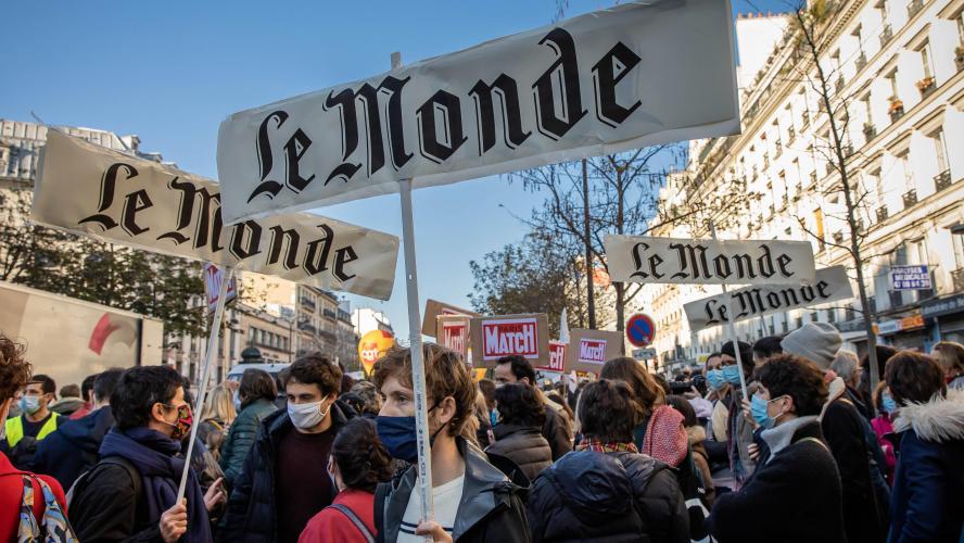 Sécurité globale : 22 interpellations lors de la manifestation à Paris [En images]