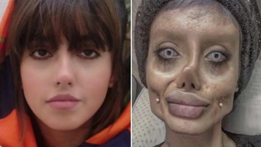 La flippante sosie d'Angelina Jolie appelle à l'aide