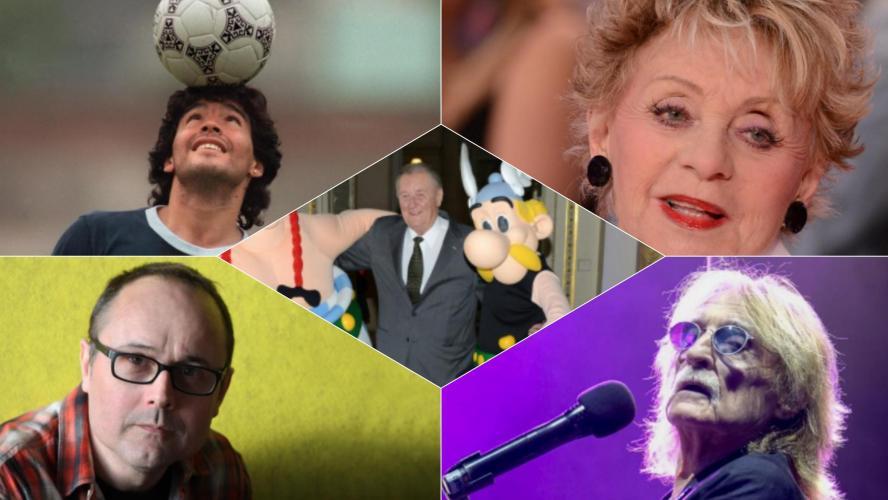Qui sont ces stars qui sont décédées en 2020? Rétrospective sur une année qui a vu s'éteindre de nombreuses personnalités
