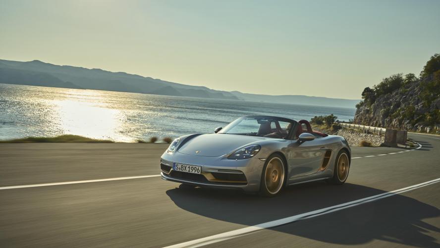 Actualité automobile: Édition limitée Porsche Boxster 25 Years