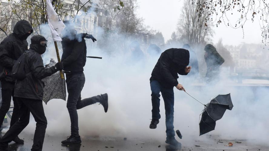 4 000 personnes manifestent contre la loi Sécurité globale — Bordeaux
