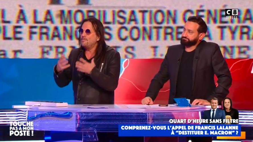 Francis Lalanne demande à l'armée de renverser le gouvernement Macron —