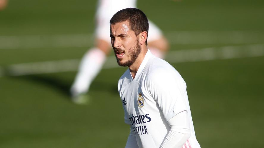 Eden Hazard encore blessé — Esp