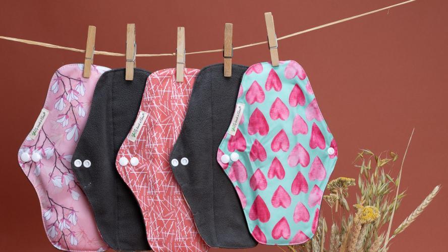 «La Bande A Anna»: la serviette hygiénique lavable et réutilisable pour des cycles menstruels écoresponsables