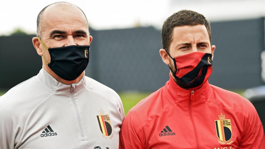 Belgique : Hazard bien dans le groupe pour l'Euro