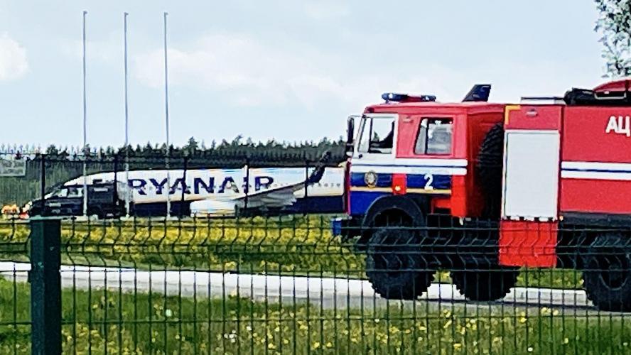 Zoom - Détournement biélorusse : les images à l'intérieur de l'avion