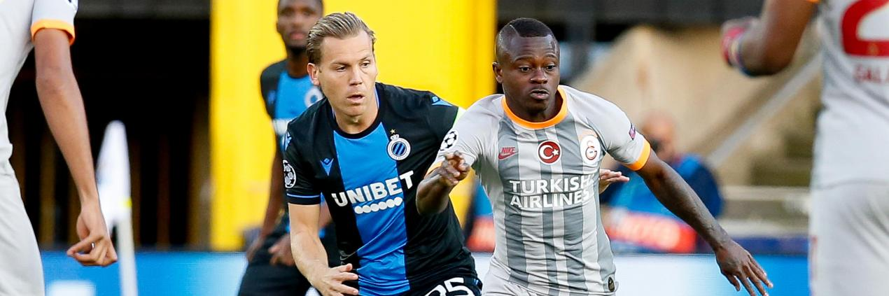 SOCCER CL GROUP STAGE CLUB BRUGGE VS GALATASARAY