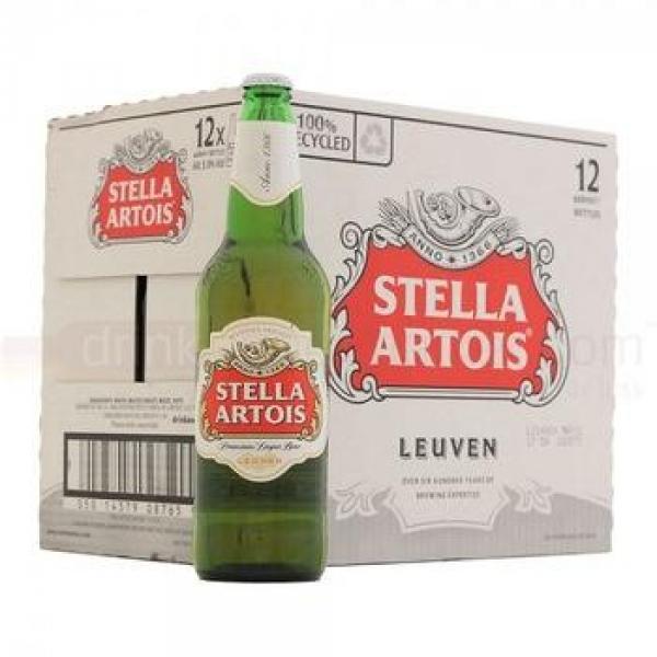 Rappel de certaines bouteilles de bière de marque Stella Artois