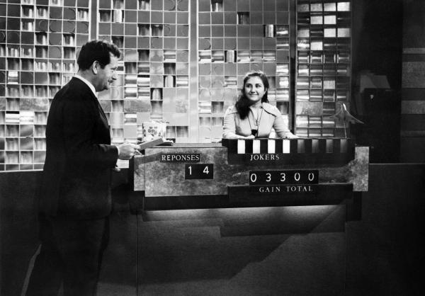 Pierre Bellemare en 1968 dans l'émission « Pas une seconde à perdre »