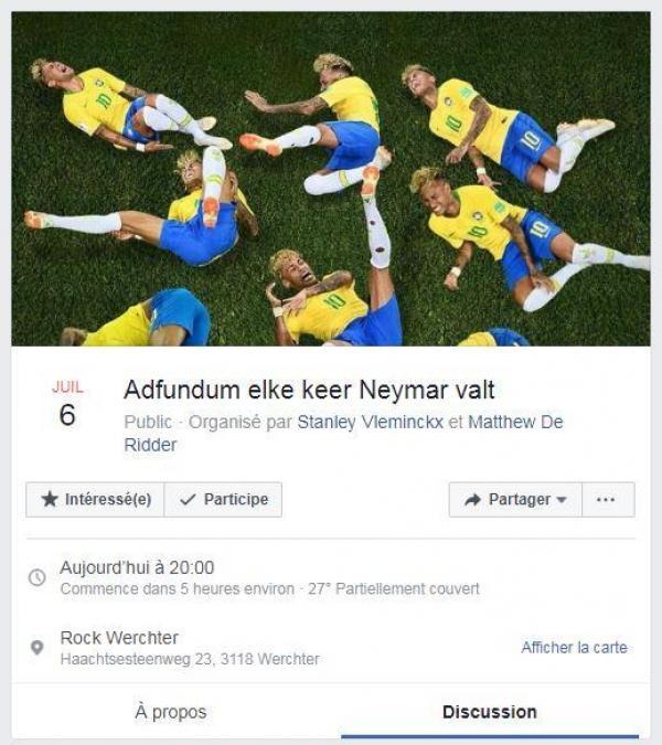 Neymar ne veut plus entendre parler de foot (pour l'instant)