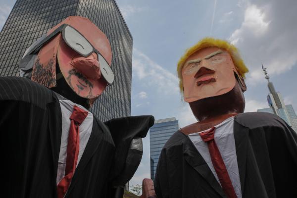 OTAN: Paris espère l'unité des alliés malgré la pression de Trump