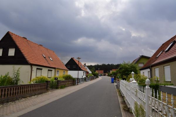Un violent incendie de forêt continue de menacer des villages — Allemagne