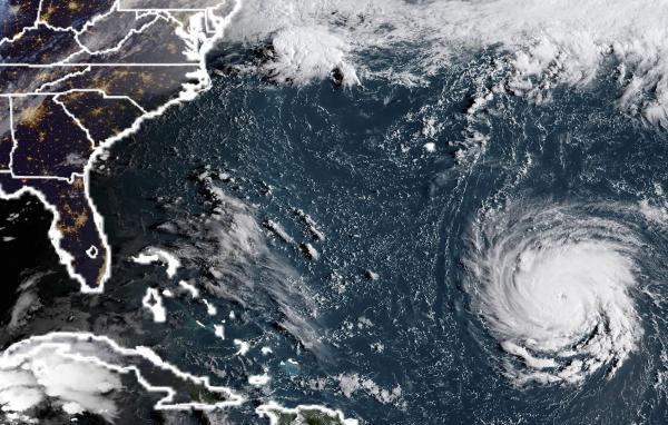 Des inondations prévues à l'intérieur des terres, aux États-Unis — Ouragan Florence