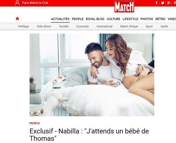 La grande décision de Thomas — Nabilla enceinte