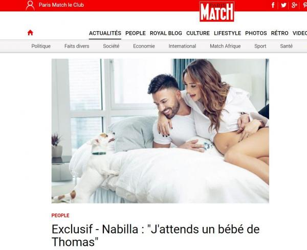 Paris-Match screenshot