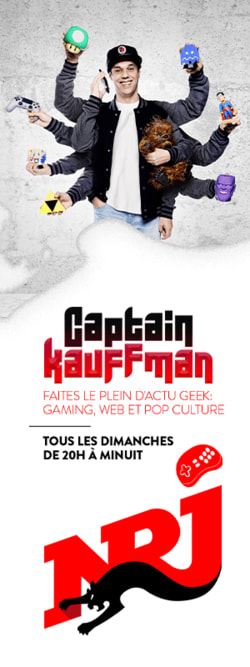 Captain Kauffman - Faites le plein d'actu geek (gaming, web et pop culture)