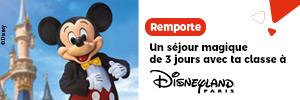 Un séjour magique de 3 jours avec ta classe à Disneyland Paris